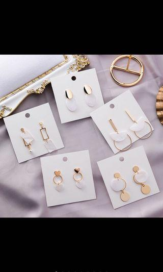 Korean Earrings - Long Earrings (Dangling)