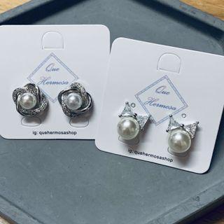 珍珠耳環s925耳環