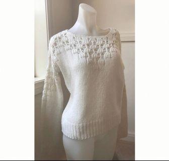 Size S/Size8: Cream jumper