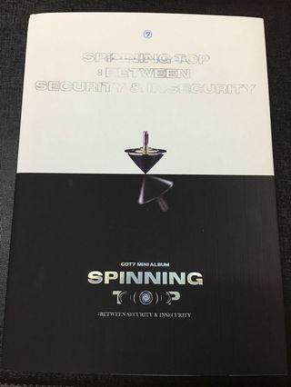 WTS GOT7 SPINNING TOP ALBUM