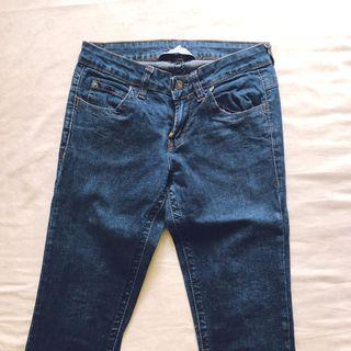 🚚 skinny jeans (dark wash)