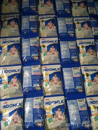Susu indomilk full cream sachet 1renceng