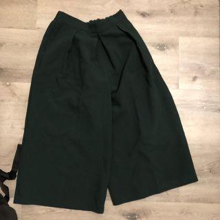 New Look Kulot Green Kulot Pants Celana Kulot