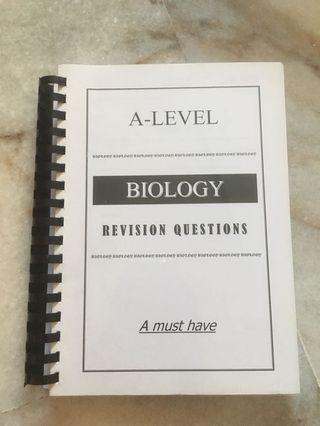 Biology A Level