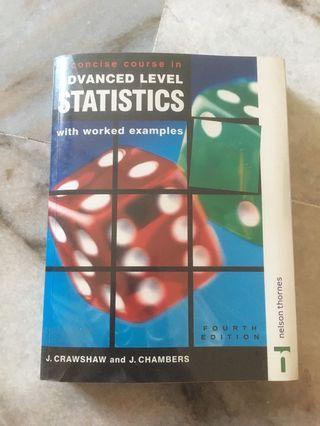 Statistics Original A Level