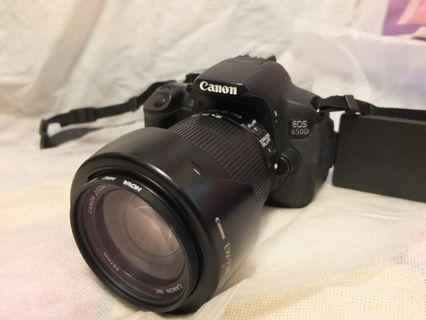Canon Eos 650 D 連天涯鏡 18 135 IS