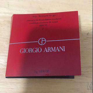 Giorgio Armani essence-in-foundation cushion 3g