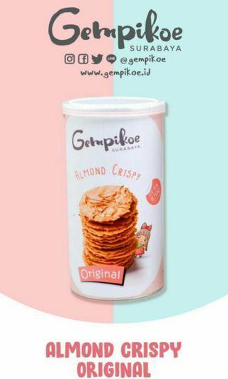 Gempikoe almond crispy (Jastip)