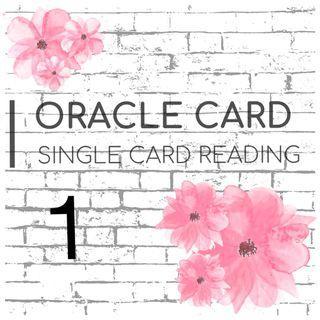 SINGLE CARD READING