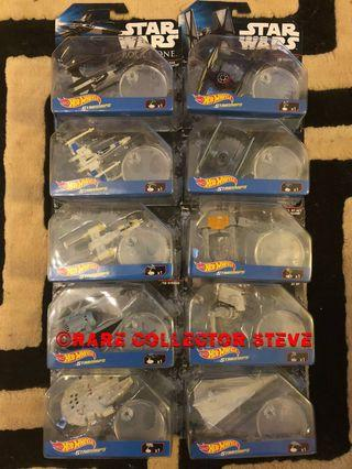 STAR WARS & ROGUE ONE (SPECIAL LIMITED) - RARE SETS