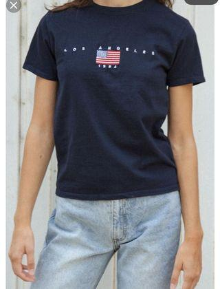 🚚 brandy melville los angeles 1984 jamie top