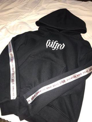 GIFTED black hoodie