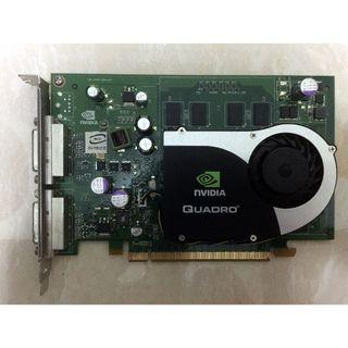 $120 NVIDIA Quadro FX 570 PCI E Express x16 Display Card