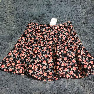 H&M floral high waist skirt (EU 32)