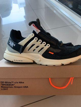 🚚 *STEAL* Off white x Nike presto og