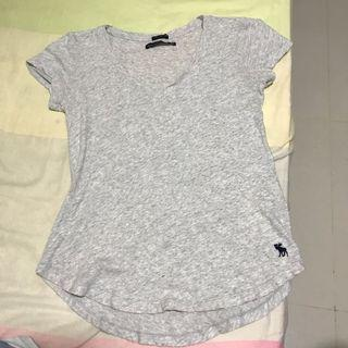 Abercrombie and Fitch Grey Tee