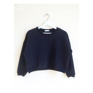Korean Black Sweater