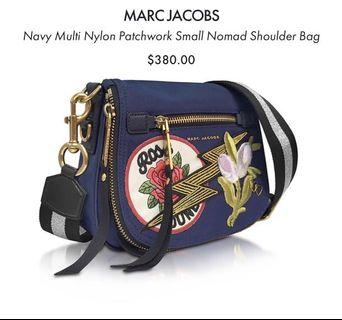 Marc Jacobs Multi Nylon Patchwork in Navy