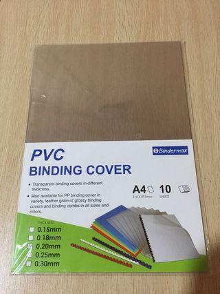 🚚 All for $3.5 mailed A4 PVC Binding cover and A4 mix Color buffalo fancy card