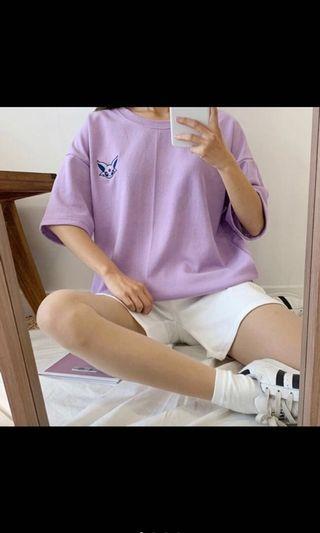 🚚 全新依布家族正韓踢(紫