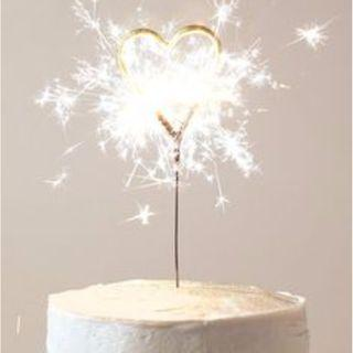 Sparkler Candle | Birthday Candle | Surprise Candle | Firework Candle | Heart Candle