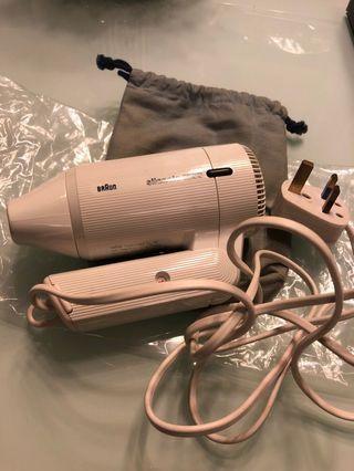 BrAun Travel size Hairdryer 1250W