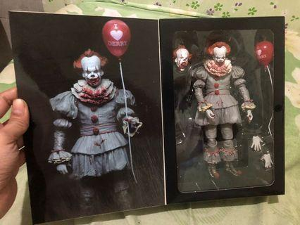 Pennywise horror movie figure
