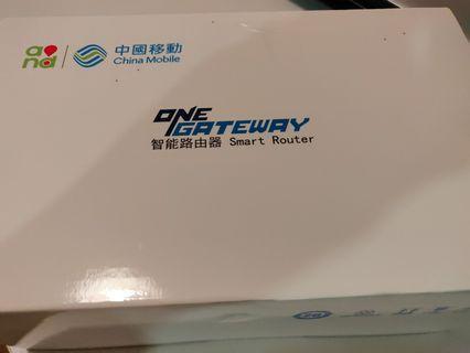 中移動,One Gateway Smart Router