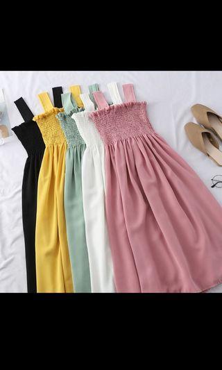 🚚 Long Ulzzang Dress