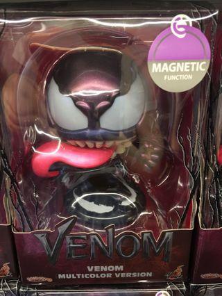 Hottoys Cosbaby Spider-Man venom (multicolour version)