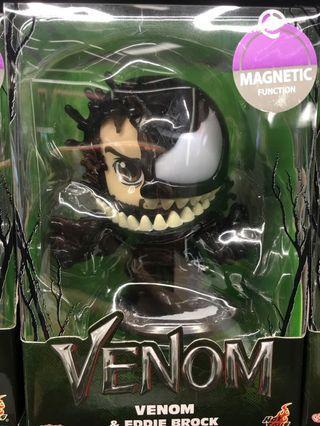 Hottoys Cosbaby Spider-Man venom (Eddie Brock)