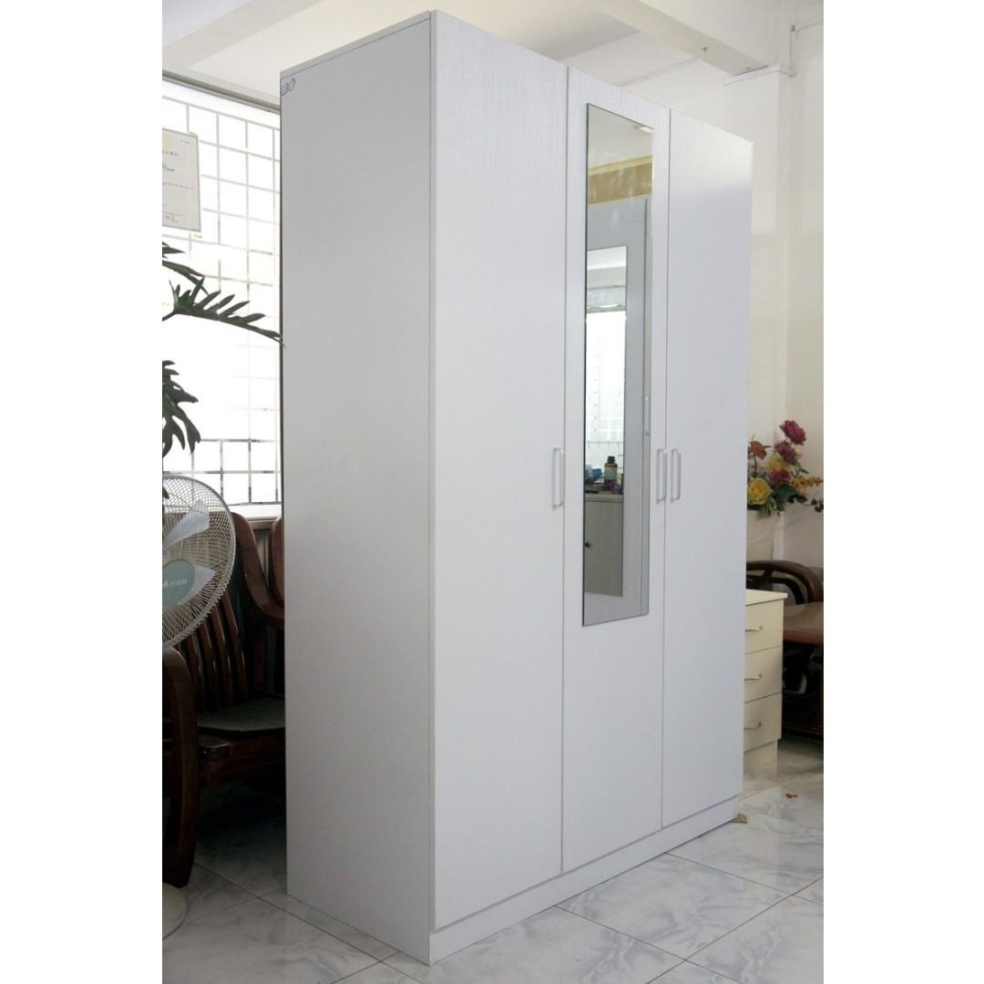 3 Door Combo Wardrobe (FREE delivery to 12km area)