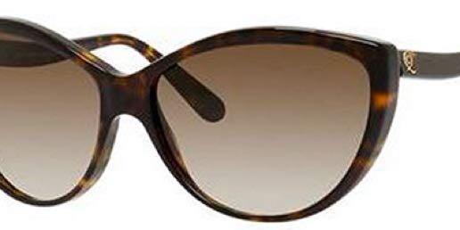 Alexander McQueen Sunglasses (AMQ 4147/S Havana Brown 086-CC)