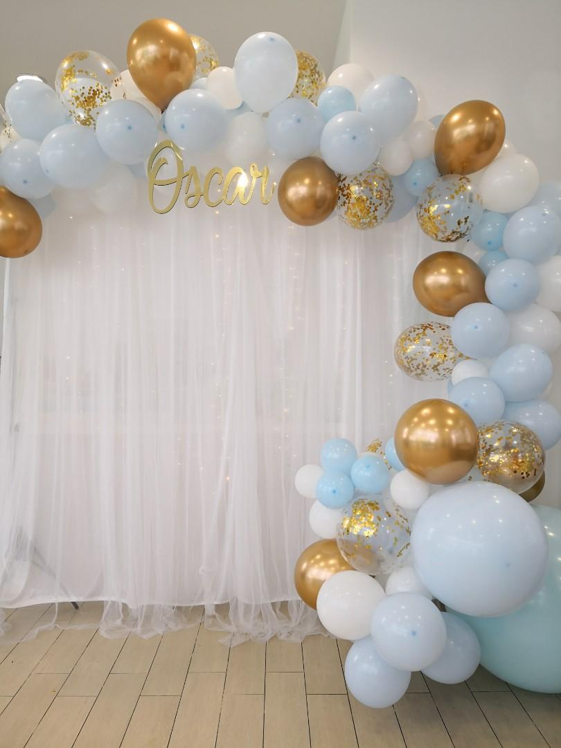 Balloon Garland Backdrop Design Craft Others On Carousell