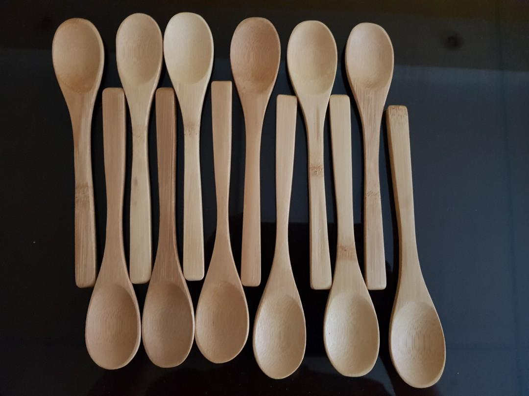 Bamboo Wood Teaspoon