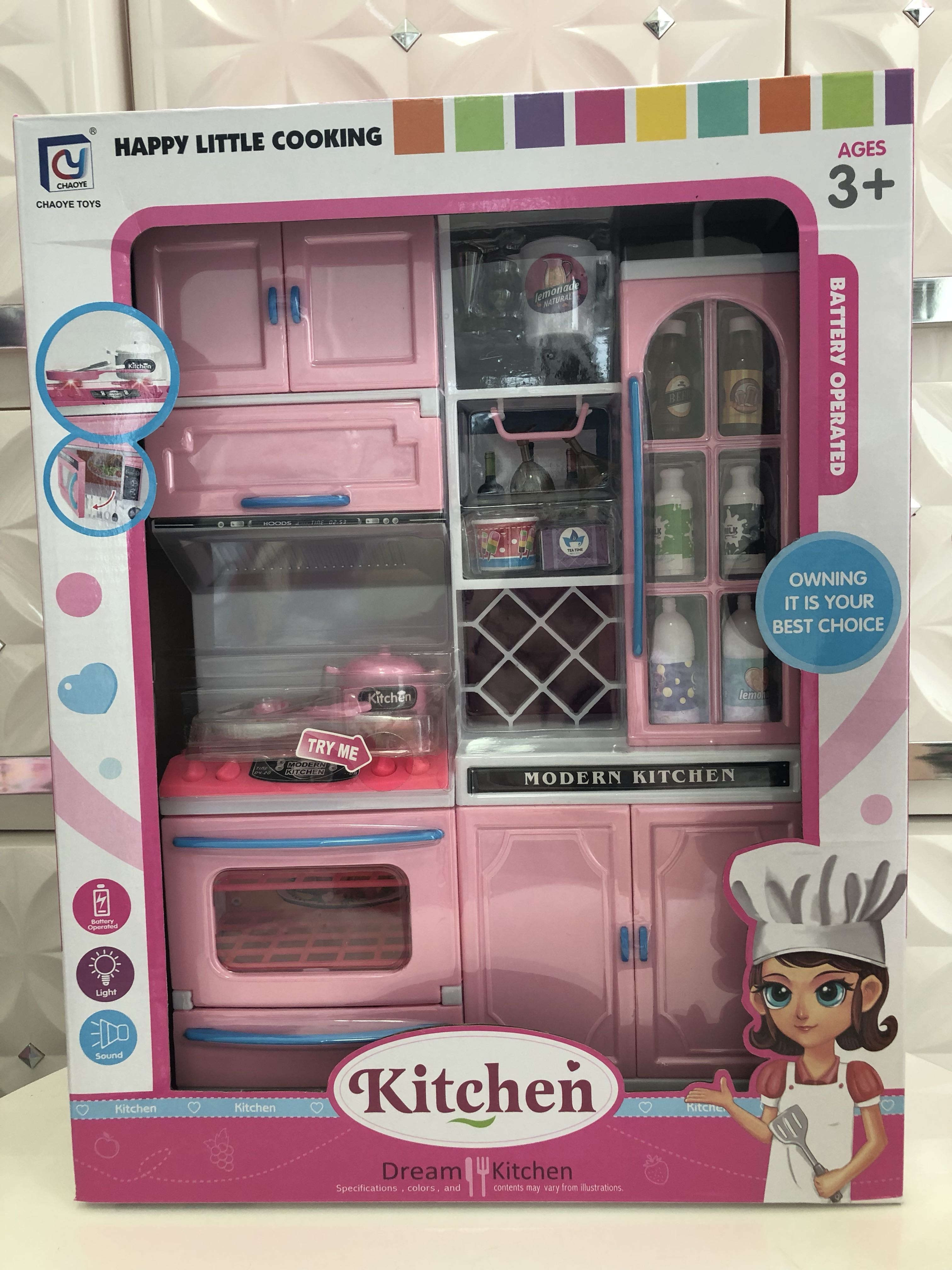 Barbie Doll Kitchen Set Of 2 Babies Kids Toys Walkers On Carousell