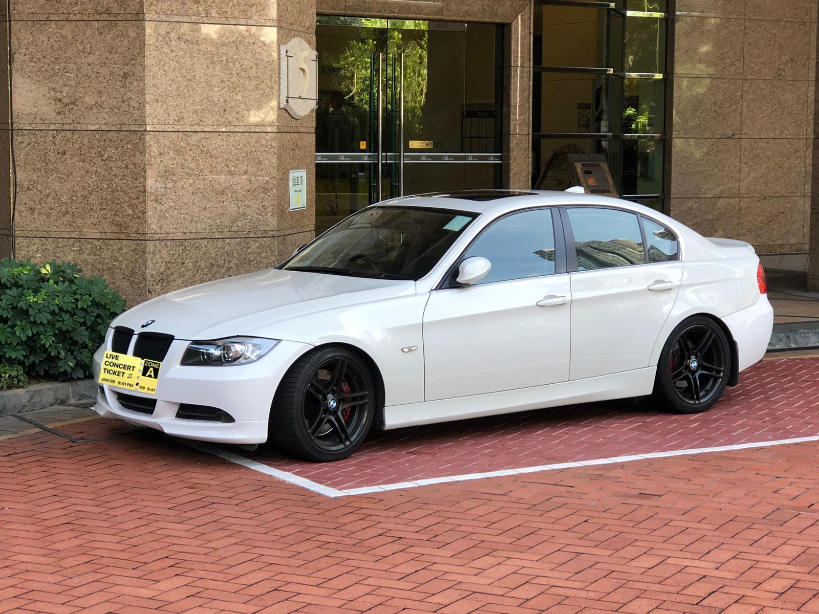 BMW 323I 2007 白色