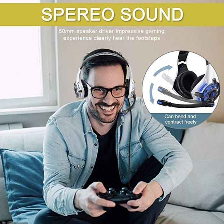 E2646) Stereo Gaming Headset for Xbox One,PS4,PC,Controller