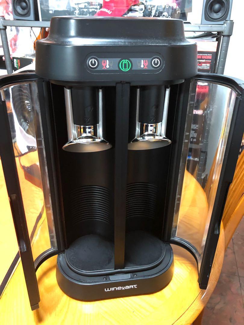 EuroCave雙瓶真空儲酒機