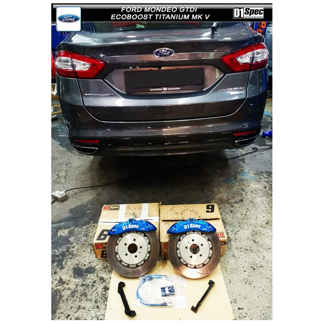 Ford Mondeo GTDI Titanium mk v ( D1 SPEC BIG BRAKE KIT 6 POT )