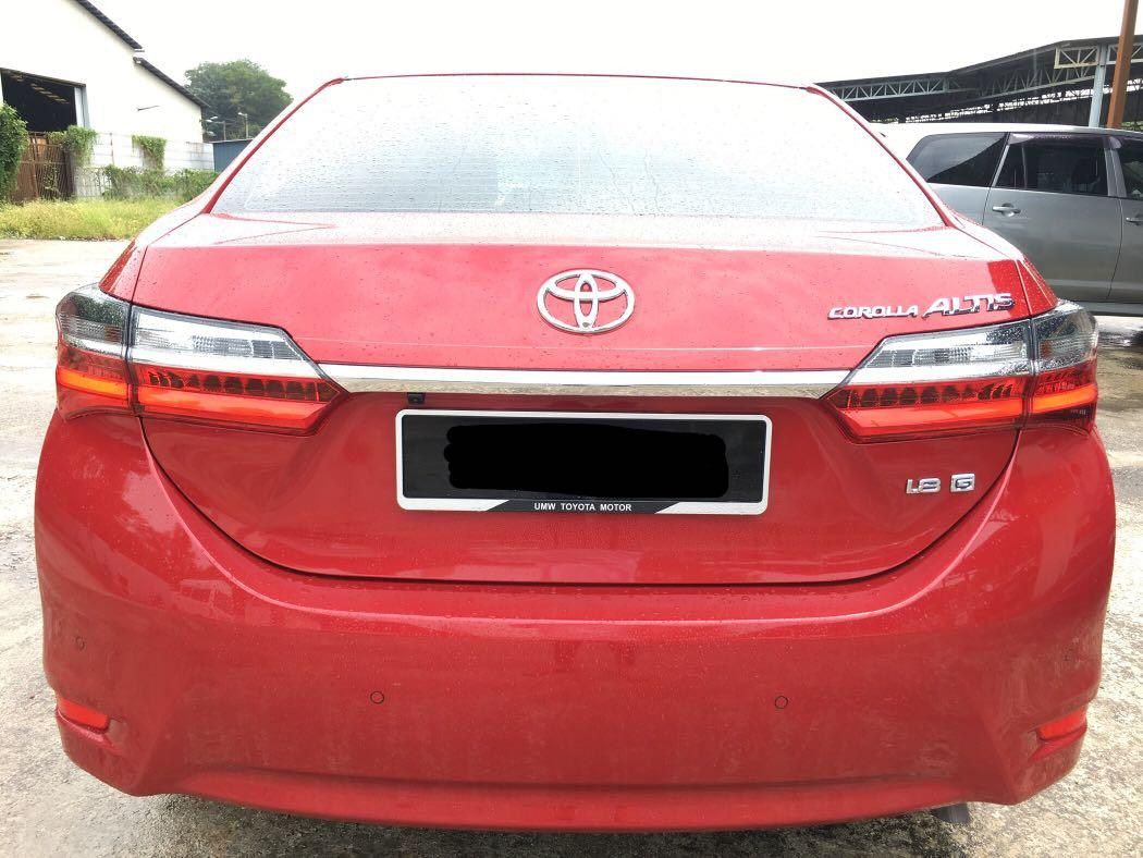 (HARGA ON THE ROAD) 2019 TOYOTA ALTIS 1.8G (REGISTERED DATE 27/06/2019)