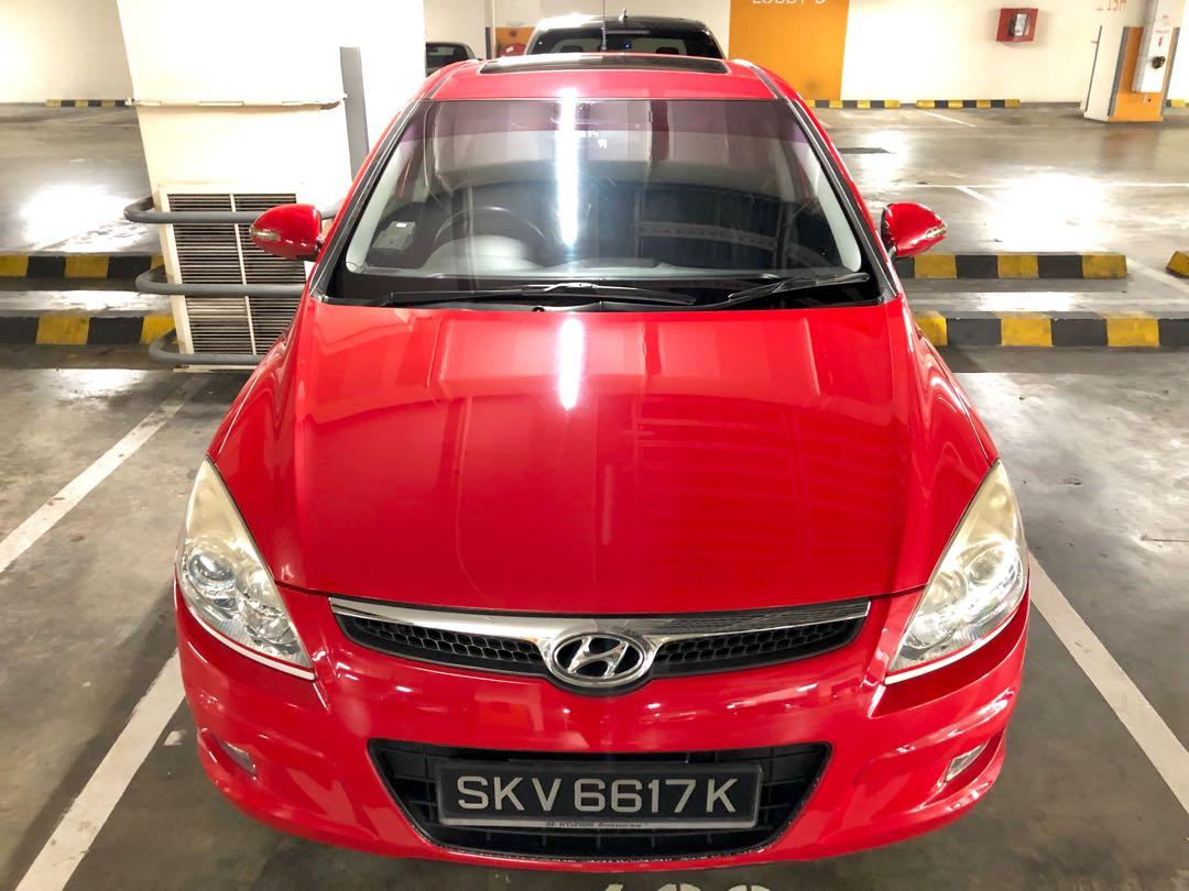 Hyundai i30 1.6a - $308/week : $43/day