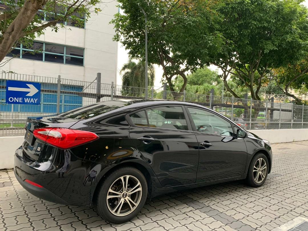 New Kia Forte K3 1.6A EX for rent