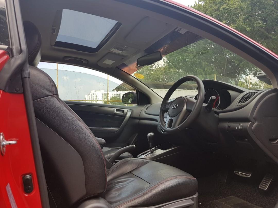 Kia Forte Koup 1.6 SX with Sportstronic Auto