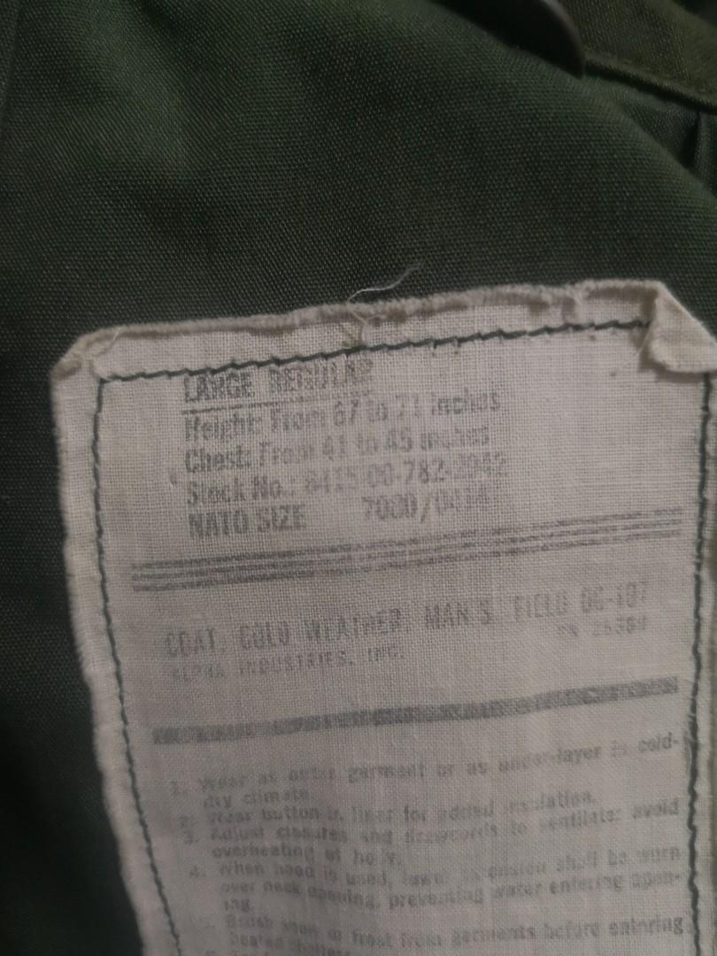 m65 FIELD JACKET