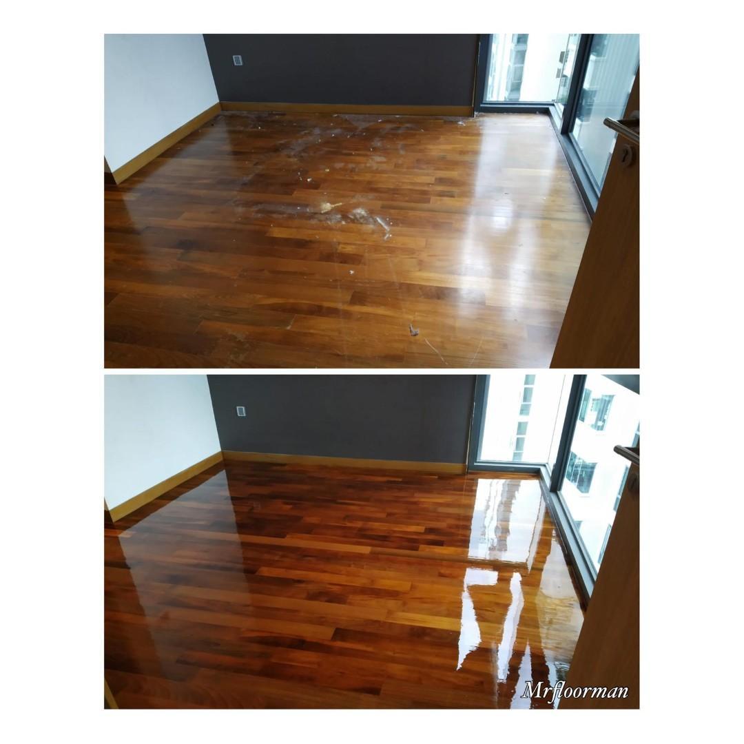 Marble & Parquet Floor Polishing