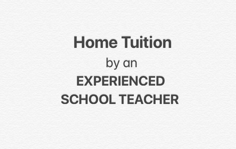 English Mathematics Science Physics 1-1 Home Tuition