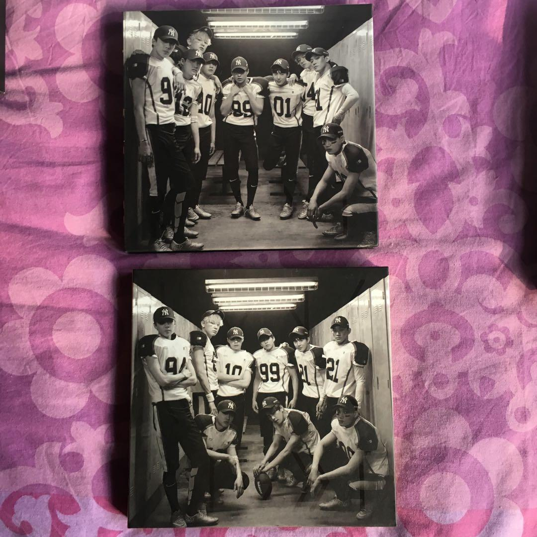 WTS [CLEARANCE SALE] ‼️OFFICIAL EXO PRELOVED ALBUMS