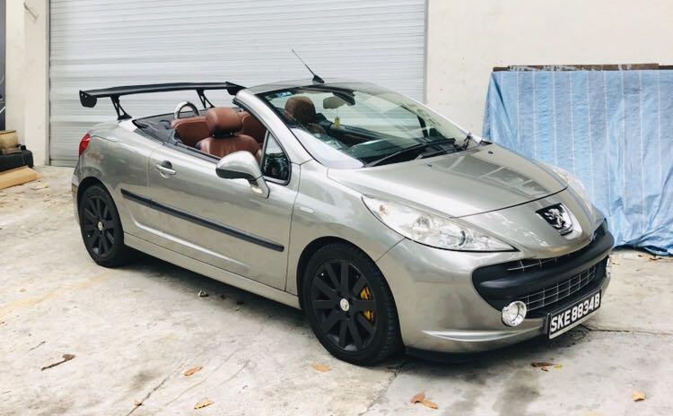 Peugeot 207 Convertible