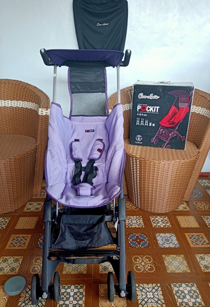 Preloved stroller pockit gen 4